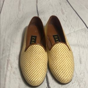 Zalo tan sand colored loafers